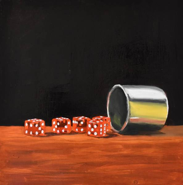 Painting - Gamble by Emily Warren
