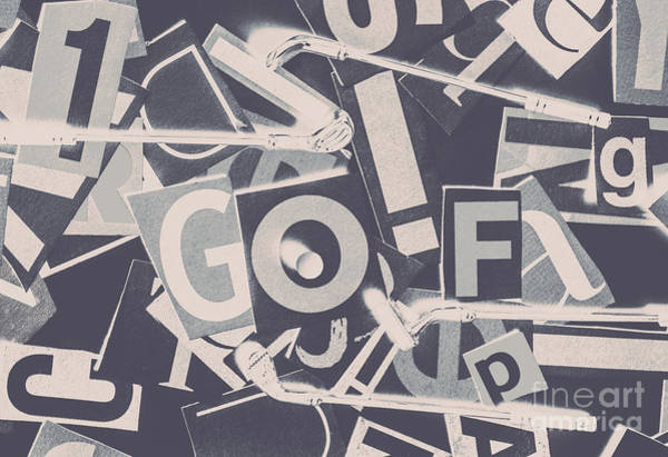 Wall Art - Photograph - Game Of Golf by Jorgo Photography - Wall Art Gallery