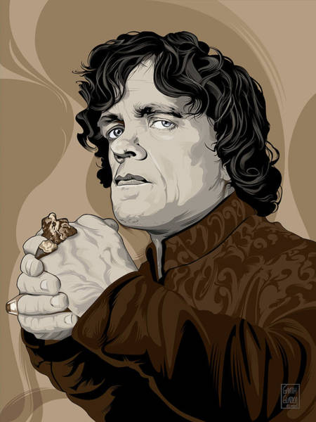 Wall Art - Digital Art - Game-of-thrones Tyrion Lannister  by Garth Glazier