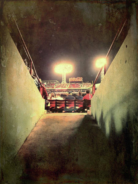 Photograph - Game Time - Fenway Park by Joann Vitali