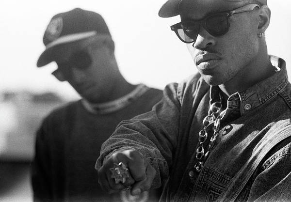 Photograph - Gang Starr London 1990 by Martyn Goodacre
