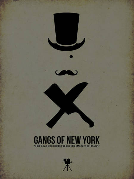 Wall Art - Digital Art - Gangs Of New York by Naxart Studio