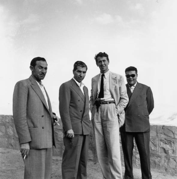 Luciano Wall Art - Photograph - Gangster And Friends by Slim Aarons