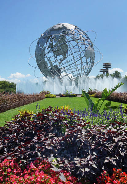 Photograph - Garden And Globe by Cate Franklyn