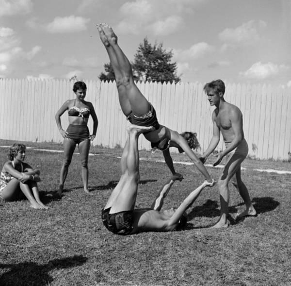 Playful Photograph - Garden Ballet by Ehalm