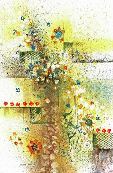 Painting - Garden Bouquet by Monte Toon