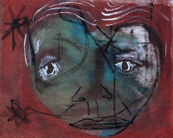 Painting - Garden Face by Artist Dot
