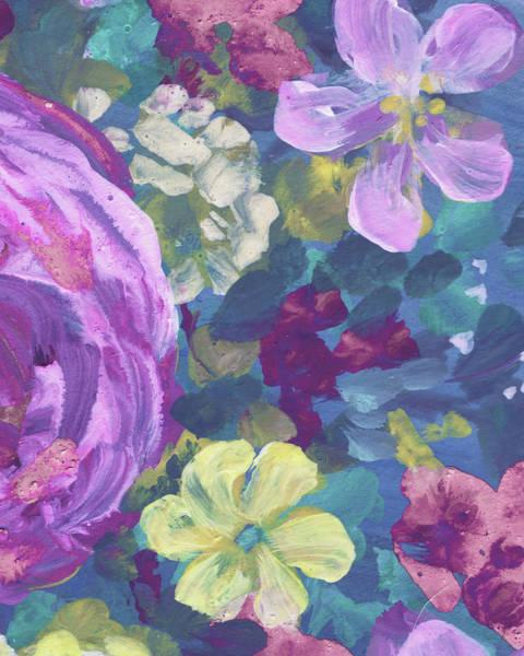 Painting - Garden Flowers Floral Impressionism  by Irina Sztukowski