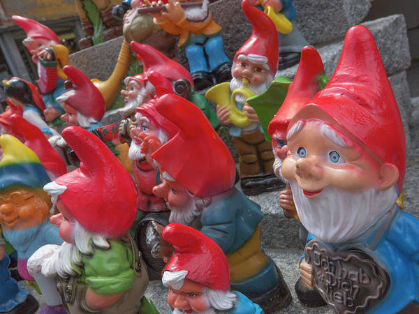 Wall Art - Photograph - Garden Gnome Selection by Guy Midkiff