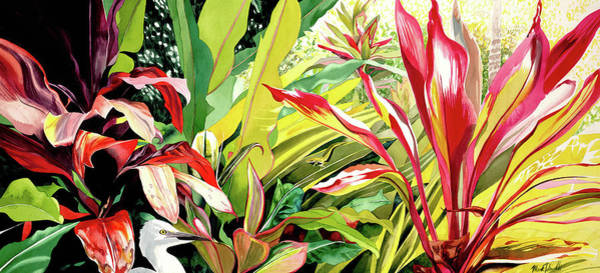 Wall Art - Painting - Garden Island 2 by Mark Daniells