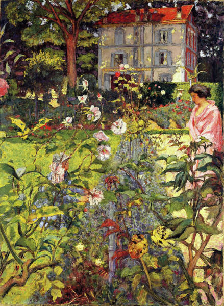 Wall Art - Painting - Garden Of Vaucresson - Digital Remastered Edition by Edouard Vuillard
