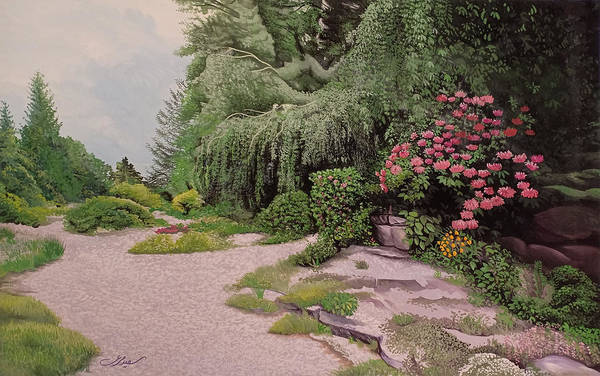 Painting - Garden by Said Marie