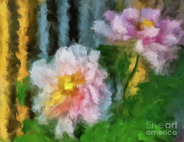 Wall Art - Digital Art - Garden Variety by Lois Bryan