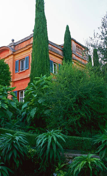 Cypress Gardens Photograph - Garden View With House by Richard Felber