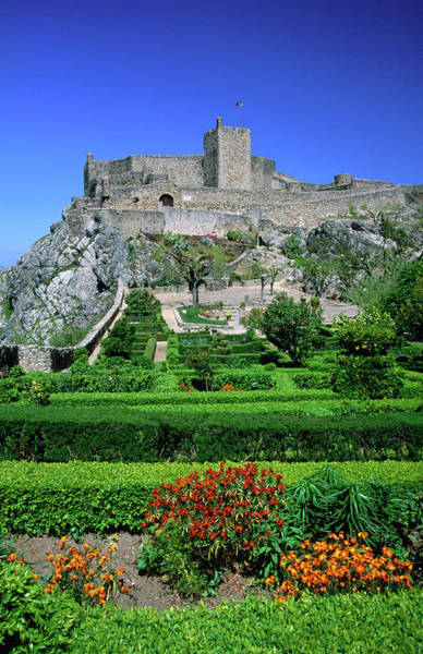 Castle Garden Photograph - Gardens And Castelo Of Marvao, Low by Anders Blomqvist