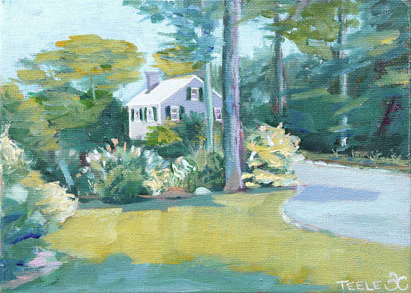 Painting - Gardens And Neighbors by Trina Teele