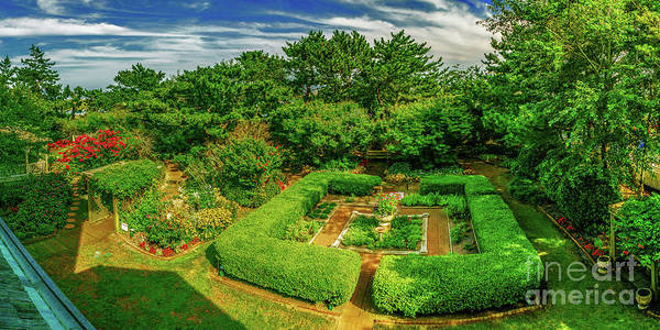 Photograph - Gardens At Hereford Light by Nick Zelinsky