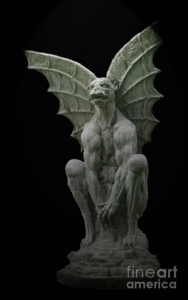 Photograph - Gargoyle by Tony Baca