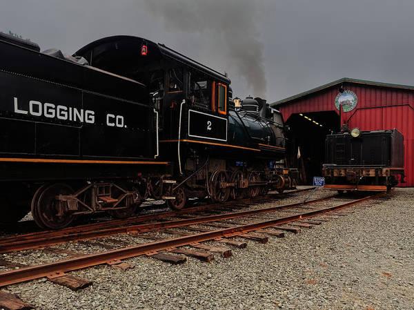 Photograph - Garibaldi Engine #2 by Thomas Hall
