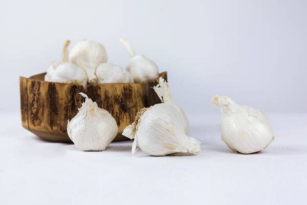 Photograph - Garlic by Jeanette Fellows