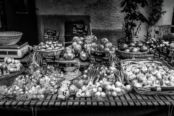 Photograph - Garlic Varieties At The French Market by Georgia Fowler