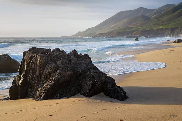 Photograph - Garrapata Beach Vi Color by David Gordon