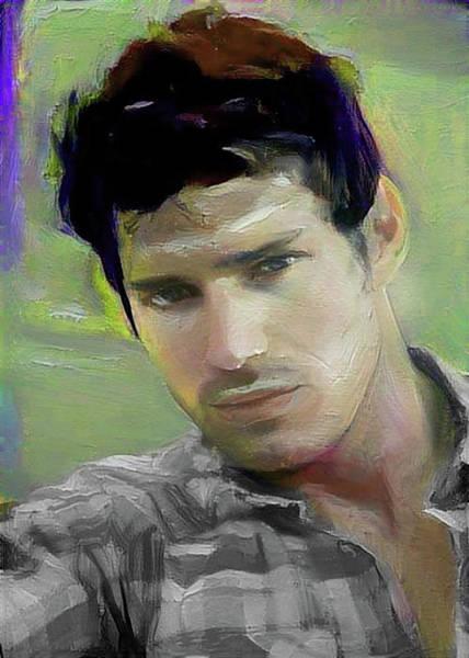 Digital Art - Gary by Richard Laeton
