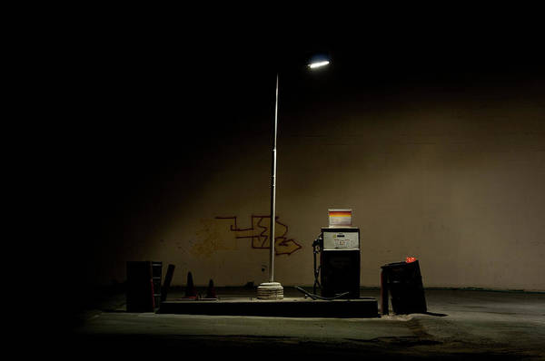 Pump Photograph - Gas Pump by Photo By Christopher Hall