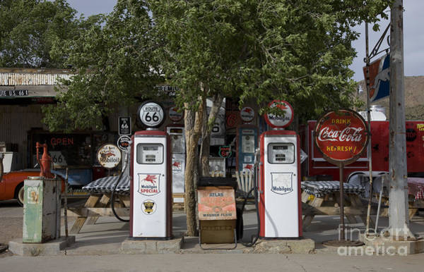 Photograph - Gas Pumps by Carol Highsmith