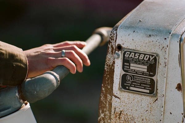 Photograph - Gasboy by Carl Young