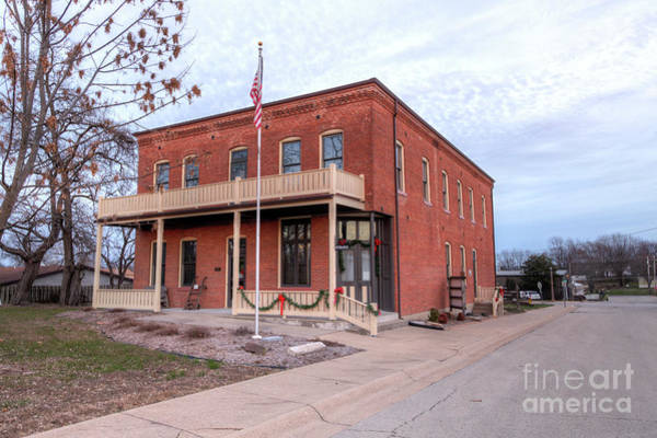 Wall Art - Photograph - Gasconade County Historical Society Museum  by Larry Braun
