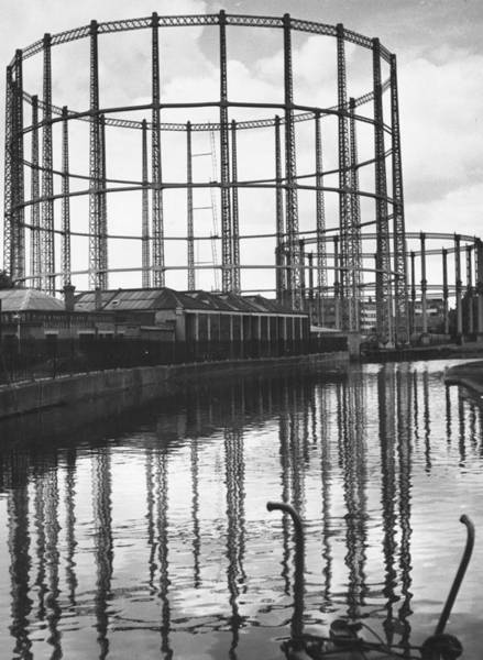 Photograph - Gasometers by Thurston Hopkins