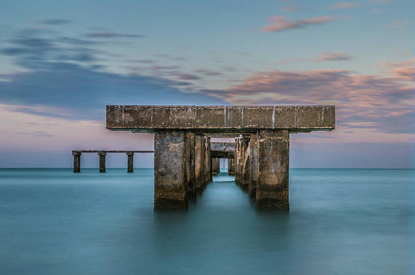 Photograph - Gasparilla Island Pier by Joe Leone