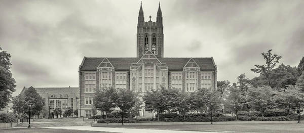 Chestnut Hill Photograph - Gasson Hall Building, Boston College by Panoramic Images