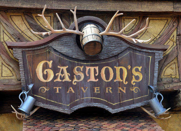 Wall Art - Photograph - Gaston's Tavern Sign by David Lee Thompson