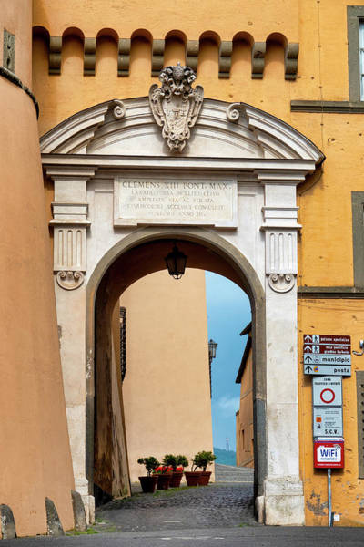 Photograph - Gate In Castel Gandolfo by Fabrizio Troiani
