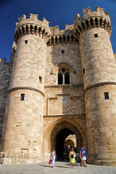 Wall Art - Photograph - Gate Into Old Rhodes Town, Greece by David Smith