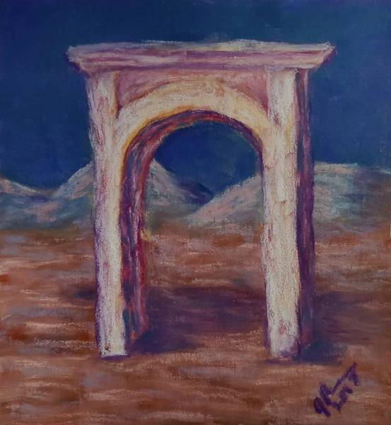 Wall Art - Pastel - Gate To Nowhere by Joann Renner