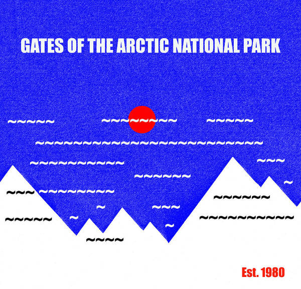 Wall Art - Mixed Media - Gates Of The Arctic N. P. M Series by David Lee Thompson