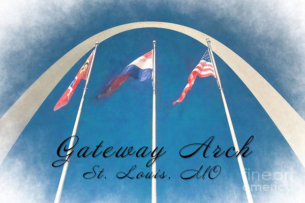 Photograph - Gateway Arch #2 by Pam  Holdsworth