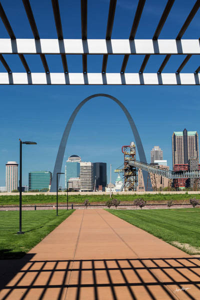 Wall Art - Photograph - Gateway Arch St. Louis by Jurgen Lorenzen