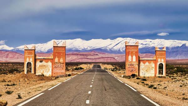 Photograph - Gateway Between Provinces - Morocco by Stuart Litoff