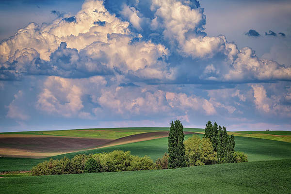 Photograph - Gathering Clouds In The Palouse by Rick Berk