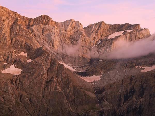 Photograph - Gavarnie Alpen Glow by Stephen Taylor