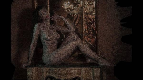 Digital Art - Gayatri by Stephane Poirier