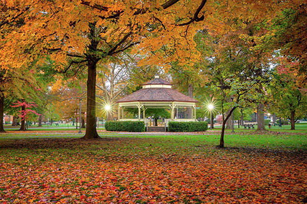 Photograph - Gazebo  In Beaver  by Emmanuel Panagiotakis