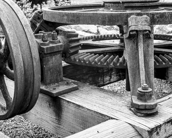 Photograph - Gears by HW Kateley