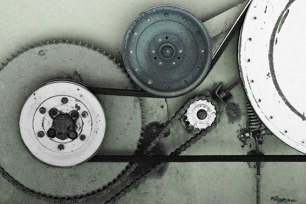 Wall Art - Photograph - Gears In Motion by Joseph Oland