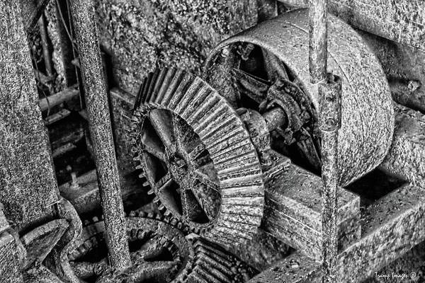 Photograph - Gears In Time by Wesley Nesbitt