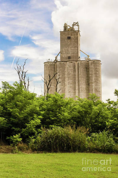 Photograph - Geary Grain Elevator by Imagery by Charly